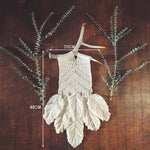 Macrame Leaf Feather Decor
