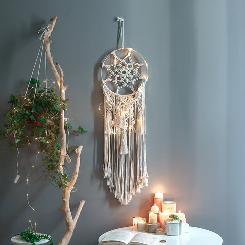 Macrame Dream Catcher Decor