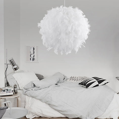 Feather Lamp Droplight Pendant
