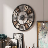 Vintage Kaleidoscope Wall Clock
