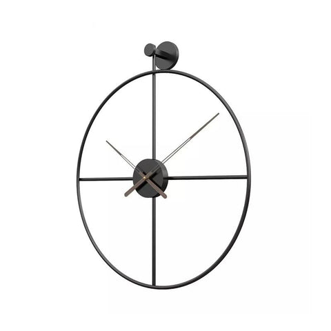 Wrought Round Wall Clock