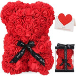 25cm Teddy Rose Bear Valentines Day Gift