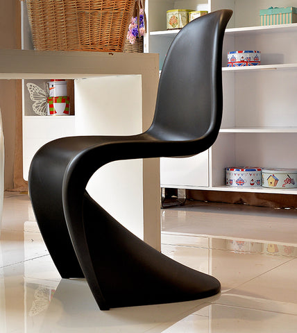 Minimalist S Shape Chair Panton Chair