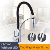 LED Kitchen Faucets