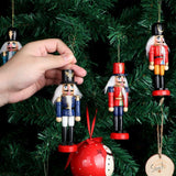 6Pcs Christmas Mini Nutcrackers Gift Set