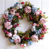 Large Door Flower Wreath