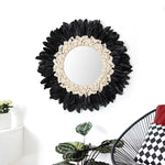 Feather Decorative Mirror