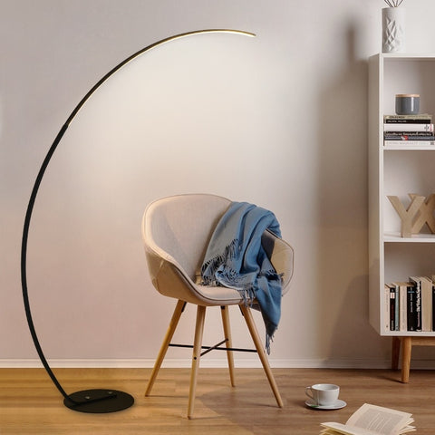 Arc LED Floor Lamp with Long Arm