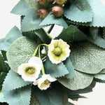 Artificial Green Leaves Wreath