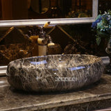 Handmade Marble Surface Ceramic  Wash Basin