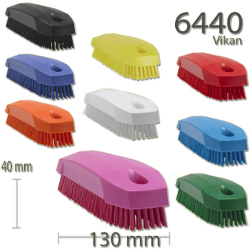 Vikan Stiff Brush Scrubbing Cleaning Upholstery Fabric Carpets