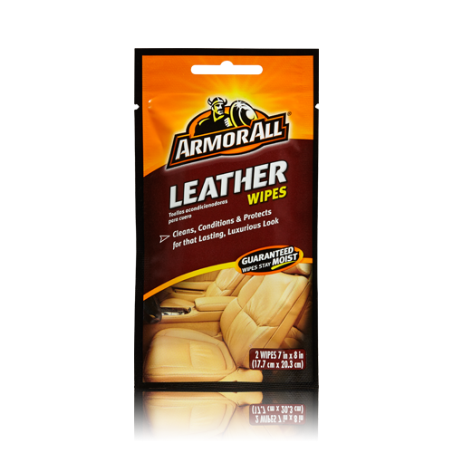 Armor All Leather Wipes with Beeswax (20) - Auto Rae-Chem
