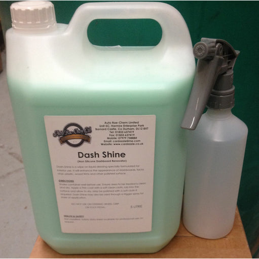 Dash Shine - Car Valeting Dash Renovator, Non-Silicone Dressing - Auto Rae-Chem