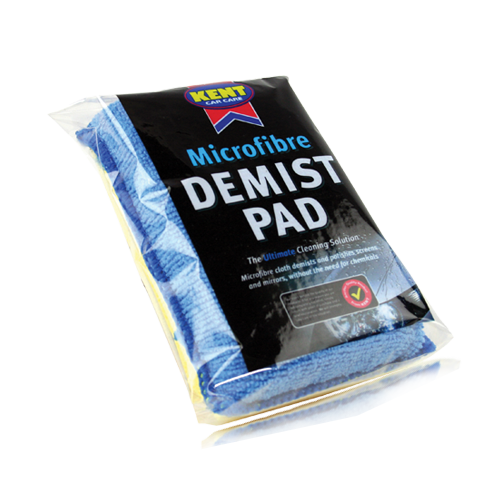 Microfibre Absorbent Car Demist Pad Windscreen Mirrors Glass Window Cleaning - Auto Rae-Chem