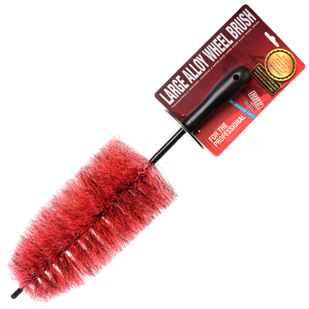 NEW – Professional Red & Black Alloy Wheel Brush