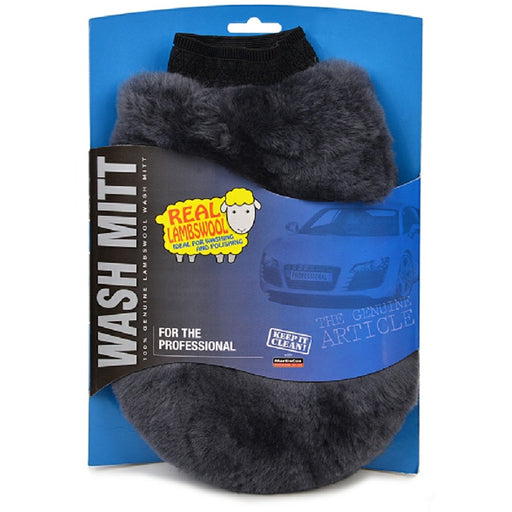Genuine Lambswool Wash Mitt - Auto Rae-Chem