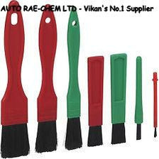 Vikan Set of 7 Mixed Professional Valeting Detailing Brushes - Auto Rae-Chem