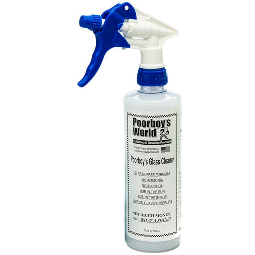 Poorboy's Glass and Windscreen Cleaner 16oz - Auto Rae-Chem