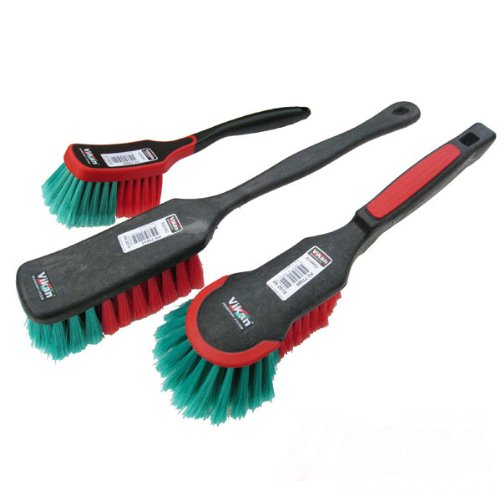 Vikan Triple Wheel & Body Brush Kit - Auto Rae-Chem