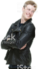 Leather Coats - Men's