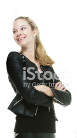 Leather Coats - Women's