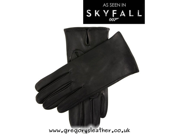 M Black James Bond Leather Glove by Dents