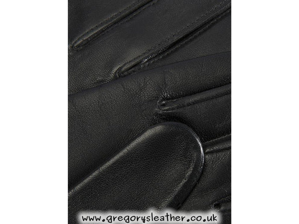 7 Black Emma Classic Hairsheep Leather Gloves by Dents