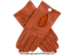 7.5 Cognac Ladies Driving Glove by Dents