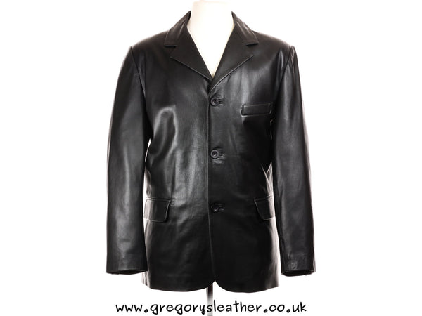 S/38 Black Blazer by Ashwood