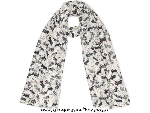Red Scratchy Dog Scarf by Radley