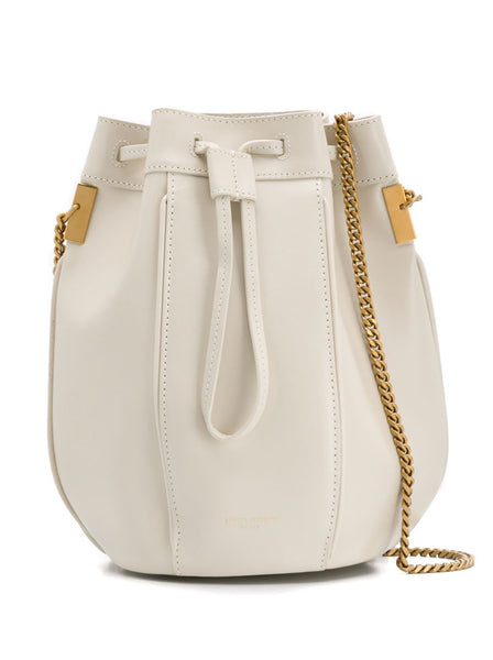 Talitha Small Calf Leather Bucket Bag