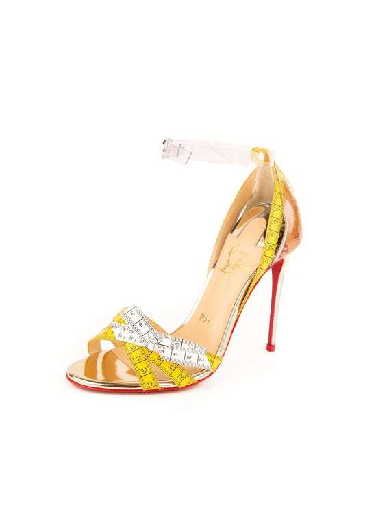 Metrisandal 100 Sandal Pump - Transparent / Yellow