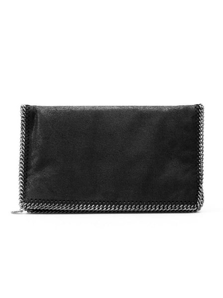 Falabella Diamond-Cut Clutch