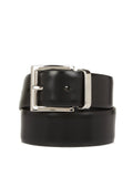 Square Buckle Logo Belt