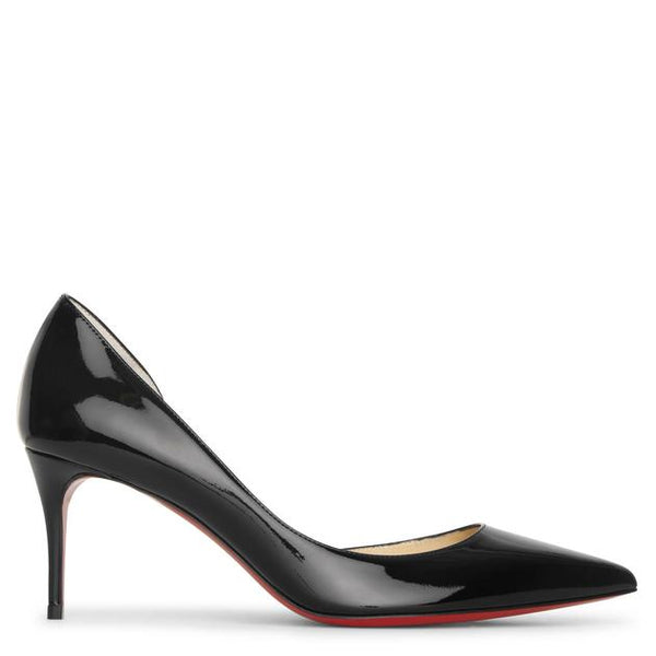Iriza 70 Patent Leather Pumps - Black