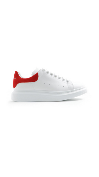 McQueen Man Oversized Sneakers - White/Red