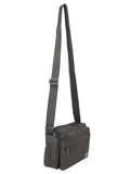 Nylon Foldover Messenger Bag