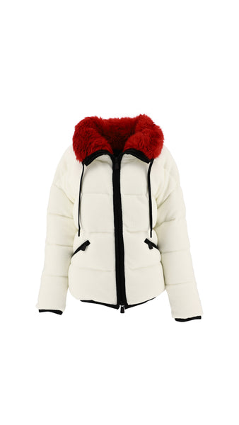 Plaret Down Jacket - White