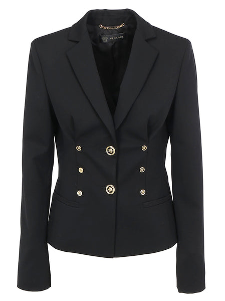 Medusa Single Breasted Wool Blazer