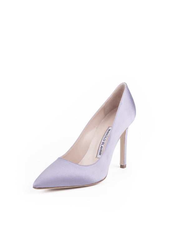 BB Satin Pumps - Lavender