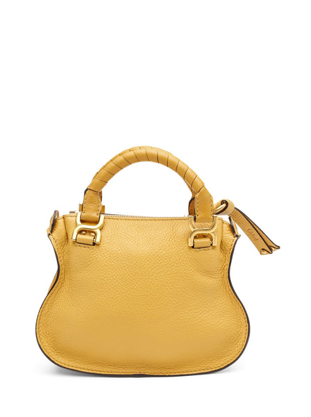 Mini Marcie Grained Calfskin Handbag