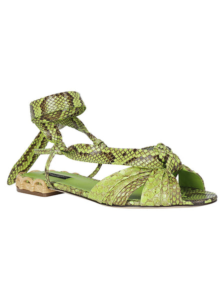 Python Wrapped Sandals