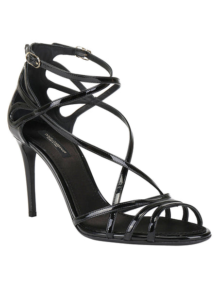 Keira 90 Patent Leather Sandals