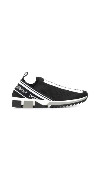 Dolce and Gabbana Man Sorrento Sneakers - Black/White