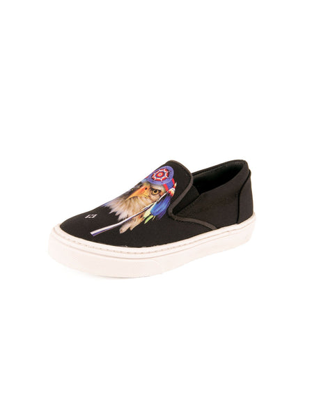 Fabric Eagles SHAN Skate Low Top Shoes - Black