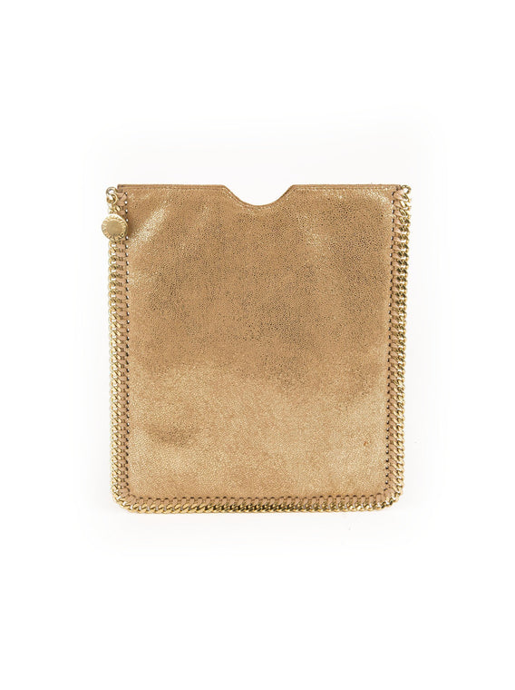 Falabella IPad Case - Gold