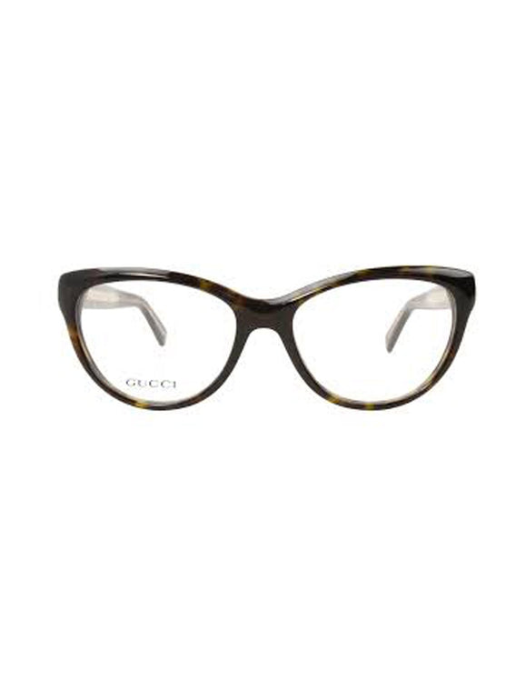 GG3851 Cat Eye Eyeglasses - Dark Havana