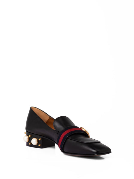 Gucci Double G Mid Heel Loafers