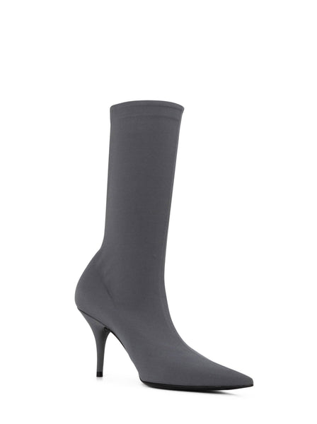 Knife Spandex Mid-Calf Sock Boots