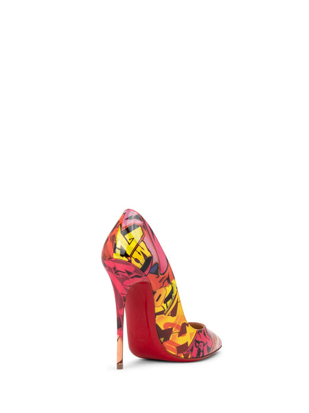 So Kate Decollette 120 Patent Leather Pumps - Multi